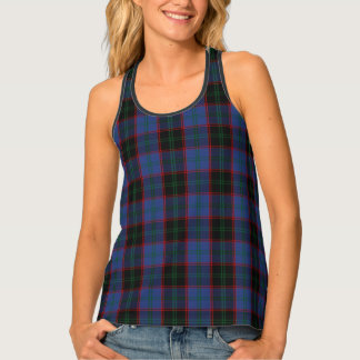 Classic Clan Home Tartan Plaid Singlet
