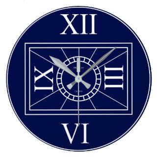 Classic Clock: Roman Numerals Large Clock