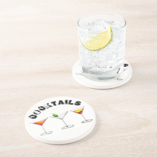 Classic Cocktails Martini Cosmopolitan Manhattan Coaster
