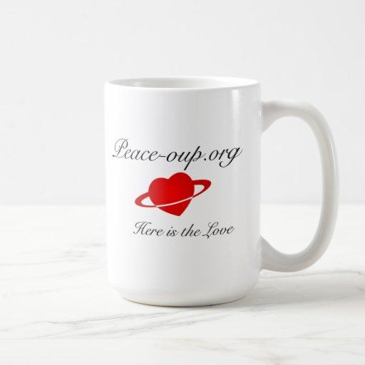 Classic Coffee Mug  - 15oz - with Heart Logo