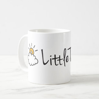 Classic Coffee Mug Text Logo
