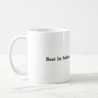 "Classic Coffee Mug with ""Best In Sales"""