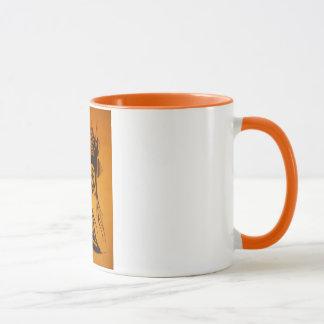 Classic Coffee Mug with hand drawn claigraphy