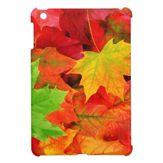 Classic Colored Autumn Fall Leaf Print Case For The iPad Mini