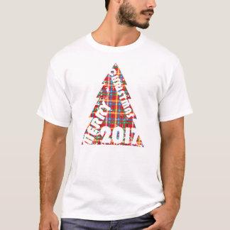 Classic Cross-Hatch Merry Christmas T-Shirt