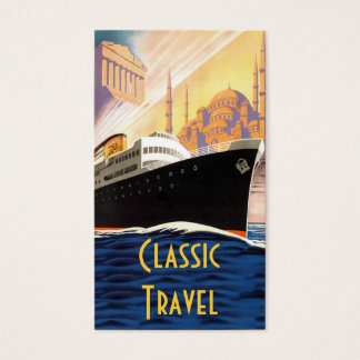 Classic Cruise Ship Travel