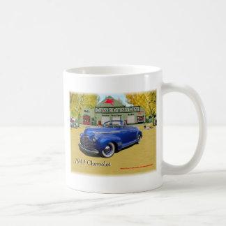Classic Cruisin Cars 1941 Chevy show Coffee Mug