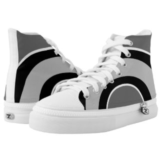 Classic Curves Mono High Top Sneakers 4