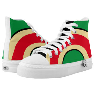 Classic Curves Three Colour High Top Sneakers 3