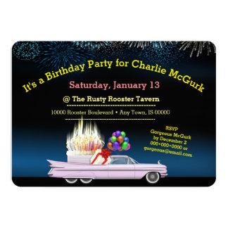 Classic Custom Birthday Party Invitation