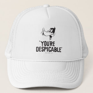 """Classic DAFFY DUCK™ """"You're Despicable"""" Cap"""