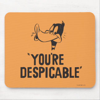 "Classic DAFFY DUCK™ ""You're Despicable"" Mouse Pad"