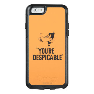 """Classic DAFFY DUCK™ """"You're Despicable"""" OtterBox iPhone 6/6s Case"""