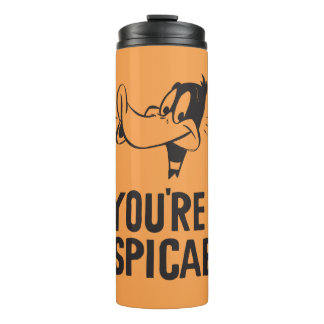"""Classic DAFFY DUCK™ """"You're Despicable"""" Thermal Tumbler"""