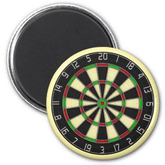 Classic Dartboard Decorative Magnet