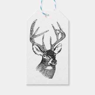CLASSIC DEER DESIGN GIFT TAGS