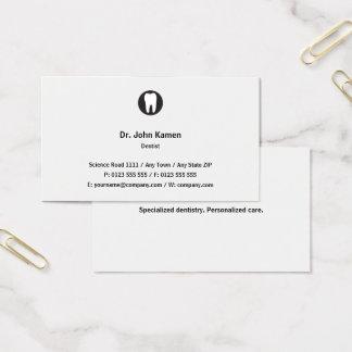 Classic Dentist   Classic Business Card