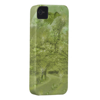 classic design with landscape iPhone 4 cover