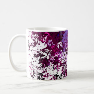 Classic Designer Mugs Red and Purple Spark