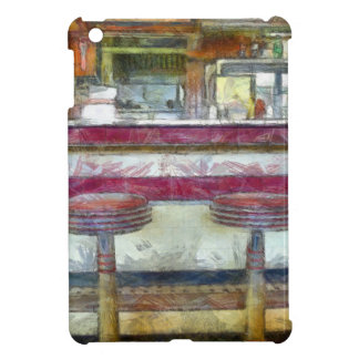 Classic Diner Stools Watercolor iPad Mini Case