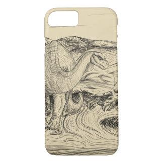 Classic Dinosaurs iPhone 8/7 Case