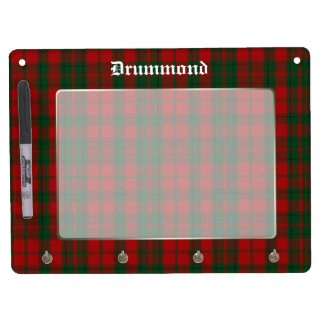 Classic Drummond Tartan Plaid Custom Dry Erase Whiteboard