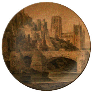 Classic Durham Cathedral Plate