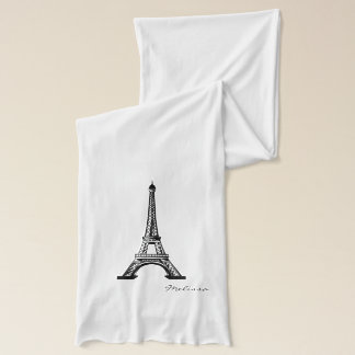 Classic Eiffel Tower | Paris Scarf