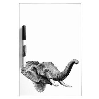 Classic Elephant Dry Erase Board