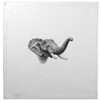Classic Elephant Napkin