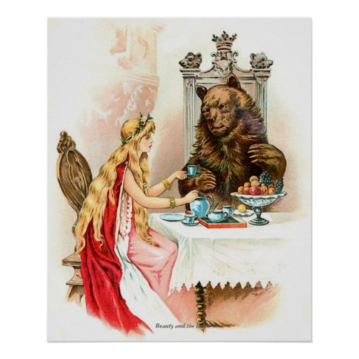 Classic Fairy Tales - Beauty and the Beast Print