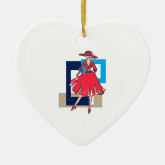 CLASSIC FASHION MODEL CERAMIC HEART DECORATION
