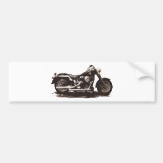 Classic Fat Boy Motorcycle Bumper Sticker