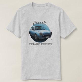 Classic Figaro Driver T-Shirt - Pale Aqua