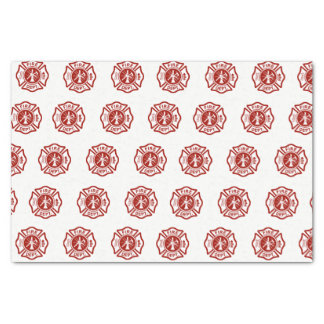 Classic Fire Fighter Symbol Pattern Tissue Paper