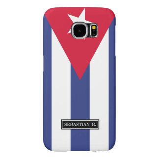 Classic Flag of Cuba Samsung Galaxy S6 Cases