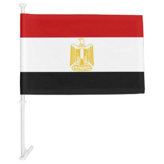Classic Flag of Egypt Car Flag