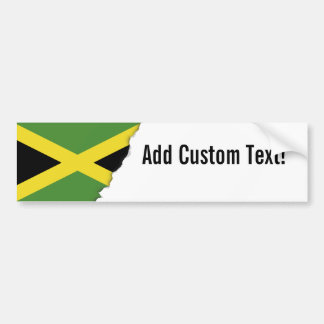 Classic Flag of Jamaica Bumper Sticker