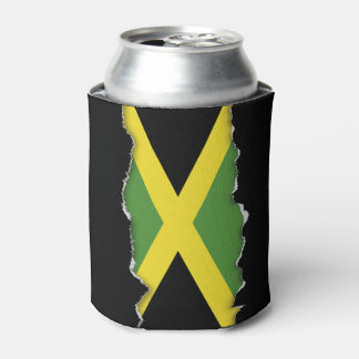 Classic Flag of Jamaica Can Cooler