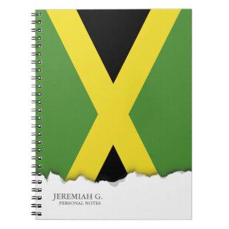 Classic Flag of Jamaica Notebook
