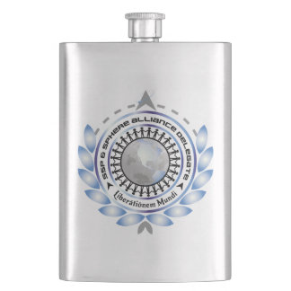 Classic Flask with Logo
