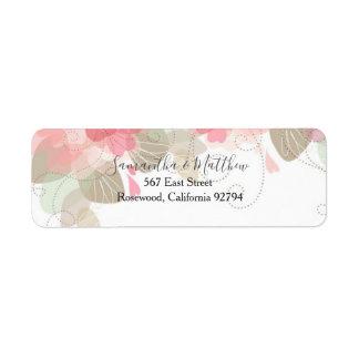 Classic Floral Address Labels