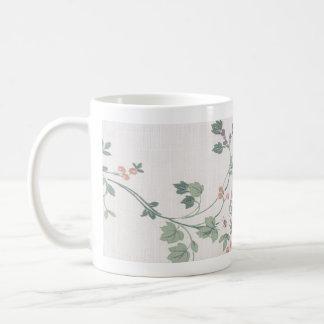 Classic Floral Coffee Mug