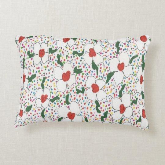 Classic Floral Pattern Decorative Cushion