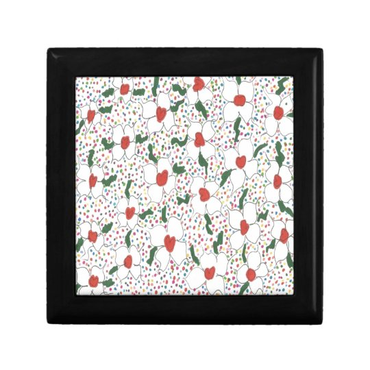 Classic Floral Pattern Gift Box