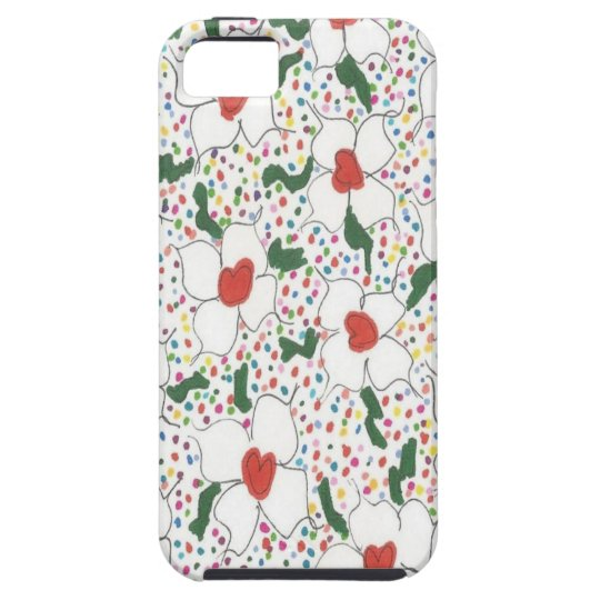 Classic Floral Pattern iPhone 5 Cover