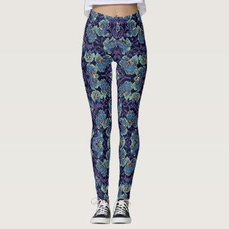 Classic Floral Pattern Leggings