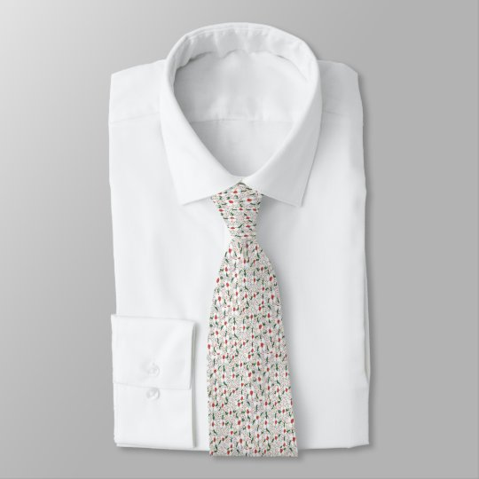 Classic Floral Pattern Tie