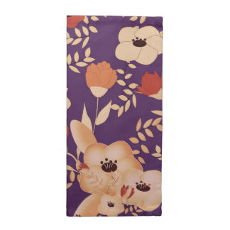 classic floral printing napkin