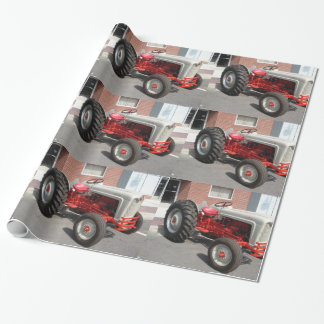 Classic Ford Tractor Wrapping Paper